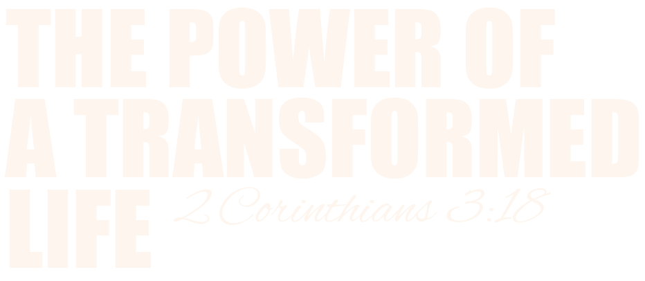 text power of a transformed life
