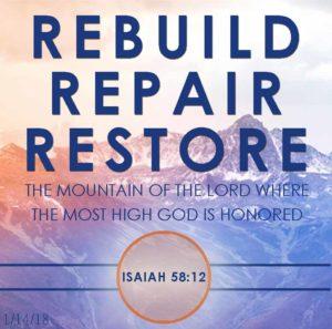 Sunday Sermon Verses (Isaiah 58) - United Faith Church